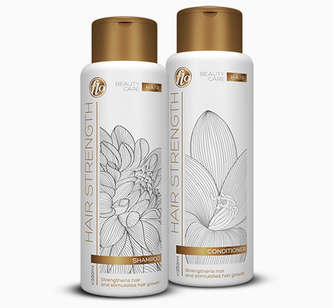Hair Strength Shampoo & Conditioner x250ml